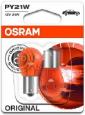Osram 7507-02B PY21W BAU15s 12V 21W 2 ks